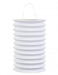 Lanterna de papel branco