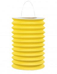 Lanterna de papel amarela