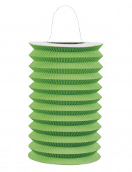 Lanterna de papel verde