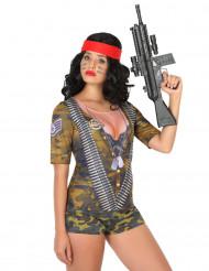 T-shirt de Soldado para mulher