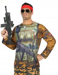 T-shirt de militar para Homem