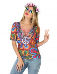 T-shirt de Hippie para mulher