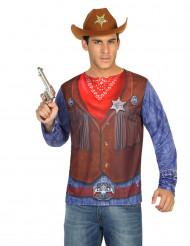 Camisola cowboy homem