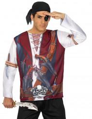 T-shirt de Pirata para Homem
