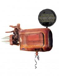 Balão de alumínio Star Wars VII™ 88 x 73 cm