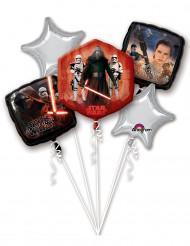 Lote de 5 balões de alumínio Star Wars VII™