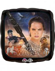 Balão de alumínio quadrado Star Wars VII™ 23 cm