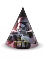 6 Chapéus de festa Star Wars VII™