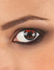 Lentes fantasia olho ferido adulto Halloween