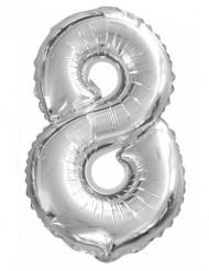 Balão de alumínio Número 8 35 cm
