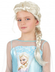 Peruca Trançada loira de princesa para menina