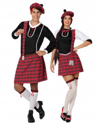 Disfarce de casal escocês