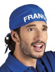 Bandana azul adeptos equipa de França