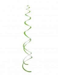 8 Decorações para pendurar espirais verdes