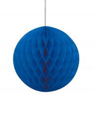 Bola de papel azul