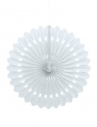 Roseta branca para pendurar 40 cm