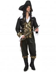 Disfarce pirata com desenhos homem
