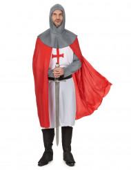 Disfarce de Cavaleiro das cruzadas homem
