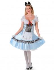 Disfarce miss Alice mulher