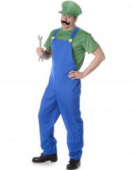Disfarce picheleiro verde homem