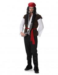 Disfarce pirata com cinto homem