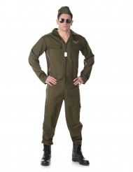 Disfarce Piloto de caça para homem