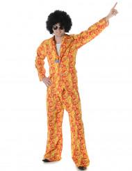 Disfarce disco hippie homem