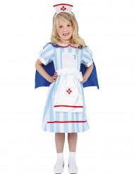 Disfarce enfermeira vintage menina