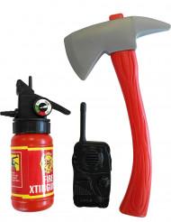 kit de bombeiro para criança