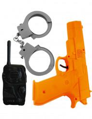 kit de policia para crianças