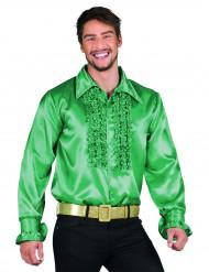 Camisa Disco Verde escuro para homem
