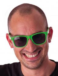 Óculos fluo verdes adulto