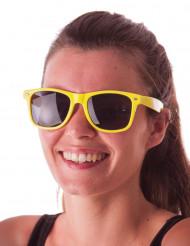Óculos blues amarelos adulto