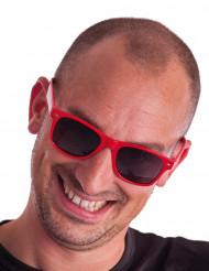 Óculos vermelhos adulto