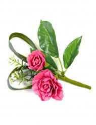 Decoração de mesa flores artificiais rosas