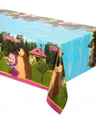 Toalha de plástico Masha e o Urso™