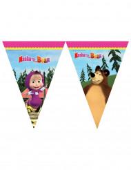 Grinalda de bandeirolas Masha e o Urso™