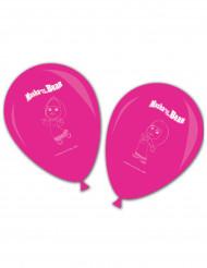 8 Balões cor-de-rosa Masha e o Urso™