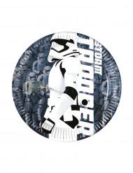 8 Pratos pequenos Stormtrooper Star Wars VII™