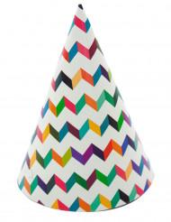 6 Chapéus de festa trendy coloridos