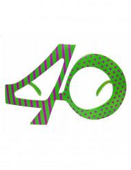 Óculos 40 anos