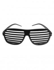 Óculos as riscas pretas