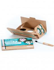 Kit maquilhagem 3 cores Cão & Pantera BIO Namaki Cosmetics©