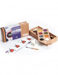 Kit maquilhagem 8 cores Mundo dos Horrores BIO Namaki Cosmetics©