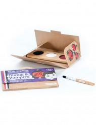 Kit maquilhagem 3 cores Diabo & Vampiro BIO Namaki Cosmetics©