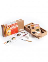 Kit maquilhagem 8 cores Vida selvagem BIO Namaki Cosmetics©