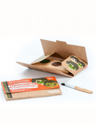 Kit maquilhagem 3 cores Dinossauro & Camuflagem BIO Namaki Cosmetics©