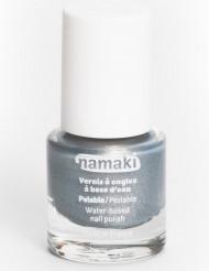Verniz facilmente descascável prateado Namaki Cosmetics ©