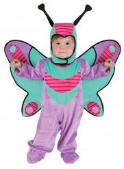Disfarce Borboleta lilás bébé