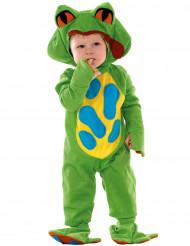 Disfarce Rã verde para bébé